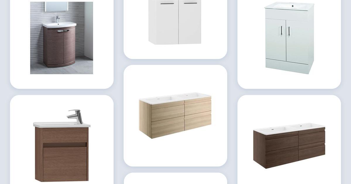 Eclipse Midnight Grey Bathroom Furniture Vanity Cabinet Basin WC Toilet Unit